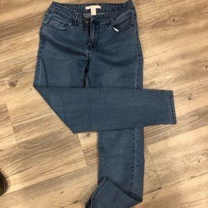 Forever 21 boyfriend jeans size 26
